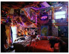 Hippie Bedroom Decor, Hippy Bedroom, Indie Bedroom, Indie Room Decor, Cute Room Decor, Aesthetic Room Decor, Punk Bedroom, Vintage Hippie Bedroom, Hippie House Decor