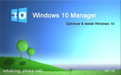 Windows 10 Manager Beta Free Download - is a system utility to optimize, tweak, solve problems and clean up Windows 10 from the debris All this together ...