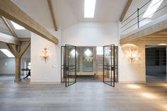 Rustieke houten vloer door Martijn de Wit vloeren