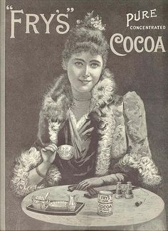 Fry's Pure Concentrated Cocoa ad, 1898 | Flickr - Photo Sharing!
