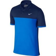 NWT Spring 2016 Nike Solid Lucid Green Navy Men's Golf Polo Shirt 725527 SZ S Clothing, Shoes & Accessories:Men's Clothing:Athletic Apparel Camisa Polo, Camisa Nike, Golf Club Grips, Perfect Golf, Womens Golf Shoes, Golf Fashion, Golf Polo Shirts, Nike Golf, Golf Outfit
