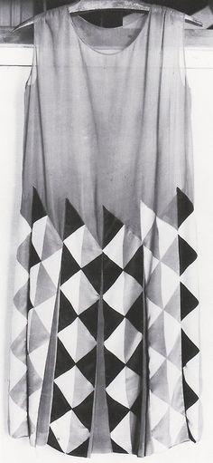 Sonia Delaunay, dress, 1920's