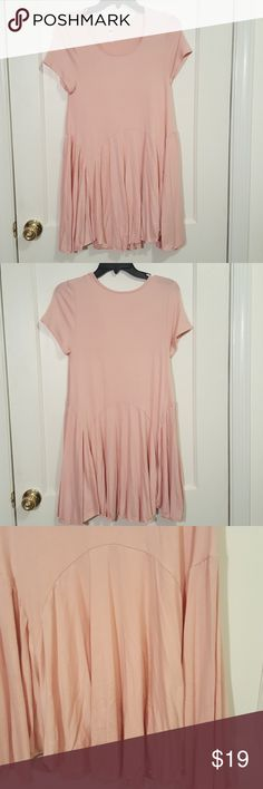 Cute Long Pink Top Long comfortable blouse perfect for any season. Fourth picture is measured from neck line to the bottom. Last picture is measured across the shirt. 95% Rayon, 5% Spandex. Brand new. J&M Tops Blouses