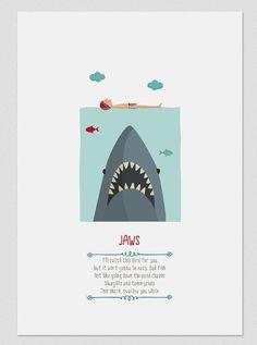 Ilustración. Tiburón / Jaws
