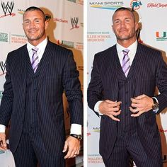 randy orton.....you have too many clothes on but I LUV U!!!!!