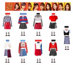 TWICE - KNOCK KNOCK♡ by vvvan99 on Polyvore featuring polyvore Mode style Alyx Museum of Friendship Off-White Dolce&Gabbana Forte Forte Tommy Hilfiger River Island Ermanno Scervino Barbara Bui Miu Miu Dr. Martens Gucci fashion clothing