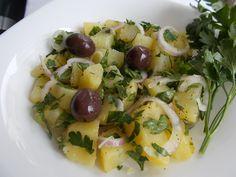 Potato Salad Greek Food