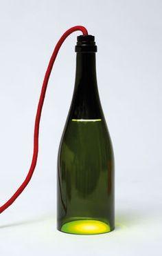 Bouteille torche   L'Atelier du Vin   Tischleuchte