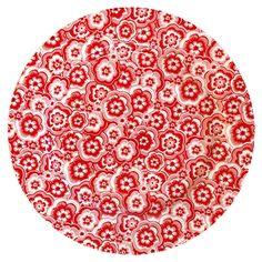 GreenGate Stoneware Plate Selma Red D 20,5 cm | NEW! Autumn/Winter 2014 | Originated-Webshop