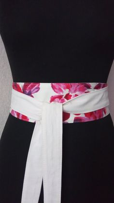 Obi belt (161), obi belts for women, Wide belt, double-sided belt, women s  belt, corset, cotton belt. Brigitte Alger · obi · Ceinture ... 477538207b8