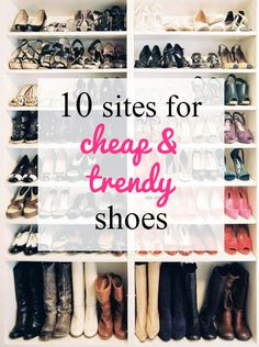 Where to Find Cute Shoes for Cheap