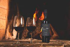 #Vino y #chimenea, la combinación perfecta para empezar la semana.