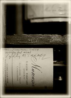 www.ranafaure.com Crabtree's Kittle House Wine Cellar