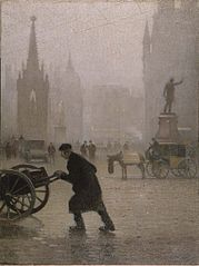 Pierre Adolphe Valette Albert Square, Manchester - The Largest Art reproductions Center In Our website. Low Wholesale Prices Great Pricing Quality Hand paintings for salePierre Adolphe Valette Victorian London, Victorian Art, French Impressionist Painters, Manchester Art, Visit Manchester, City Gallery, Art Uk, Manet, Urban Landscape