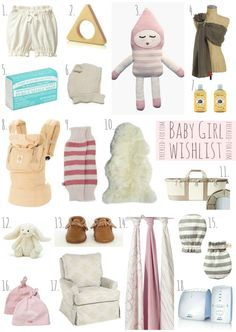 The Freckled Fox : A Baby Girl Wish List