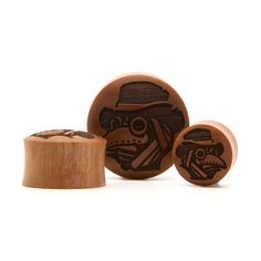 Engraved Woods | UK Custom Plugs - Ear Gauges, Flesh Tunnels for Stretched Ears