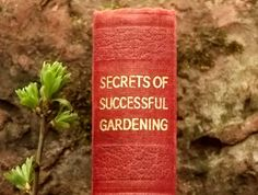 Secrets of Successful Gardening 1930s Book by EAGERforWORD on Etsy, £6.00