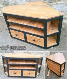 Pallet Furniture Projects Usable pallet wood ideas have made special and the most significant place in the wooden furniture market. Everyone seems to be in the influence of pallet… Pallet Ideas Easy, Diy Pallet Projects, Wood Projects, Woodworking Projects, Wood Ideas, Recycled Pallets, Wooden Pallets, Pallet Wood, Pallet Walls