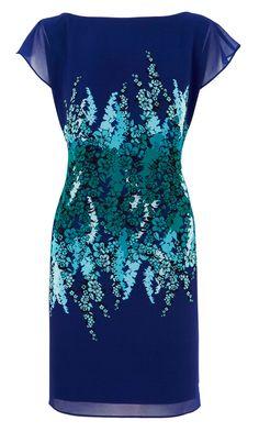 Coast Blue Print Dress, £125