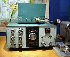 Heathkit HW-101 CW-SSB HF Amateur Radio Transceiver. (Was Sold As A Kit To Be Assembled.)