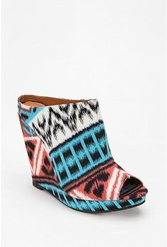 so weird and not my style at all but i strangely love them. just imagine paired with a simple black tank dress.