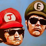 Super Blues Brothers, Relentlessly Cheerful Art by James Hance