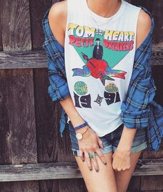 shop dainty lion for rock'n roll CHASER brand tanks! show off your Tom Petty love in this rockstar tank! visit our boho boutique for women's tank tops + more!