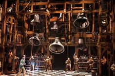 THE HUNCHBACK OF NOTRE DAME at the la jolla playhouse. set design by Alexander Dodge.