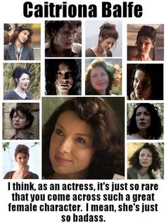"""When describing Claire to someone who hadn't read Outlander all I could think to say was """"She's a badass."""" It made me so happy to see this!"""