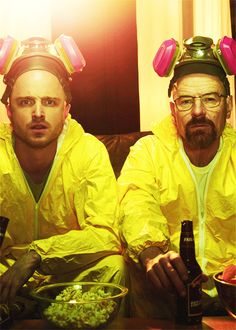 We may not have seen the last of Walter White. As Breaking Bad creator Vince Gilligan prepares for the spinoff series Better Call Saul, he tells The Hollywood Reporter that both Bryan Cranston and. Movies And Series, Best Series, Best Tv Shows, Best Shows Ever, Favorite Tv Shows, Aaron Paul, Bryan Cranston, Walter White, George Clooney