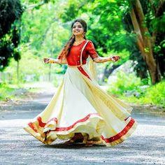 Order contact my whatsapp number 7874133176 Set Saree, Half Saree Lehenga, Bridal Lehenga, Kasavu Saree, Bollywood Lehenga, Sarees, Kerala Saree Blouse Designs, Half Saree Designs, Lehenga Designs