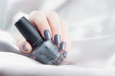 OPI - Embrace the Gray from the Fifty Shades Of Grey Collection.