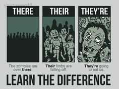 Nothing better than zombie grammar. Teaching Memes, Teaching Grammar, Teaching Writing, Teaching Tools, Teaching English, Teaching Ideas, Writing Tips, Writing Quotes, Writing Process