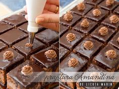 Din bucătăria mea: Prajitura Amandina Chocolate Cake, Caramel, Deserts, Baking, Breakfast, Food, Chicolate Cake, Sticky Toffee, Morning Coffee