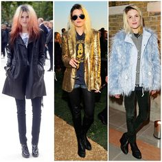 The 21 Best-Dressed Women Right Now - Lead singer of The Kills, Allison Mosshart. She always nails a perfect rock and roll mix of fur, leather, and denim.