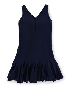 Silk Flared Dress - Girls 7-16 Girls' Shop All - RalphLauren.com