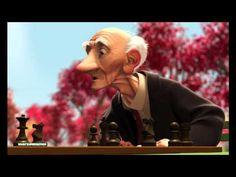 Pixar animation: Geri's Game. Still adorable.
