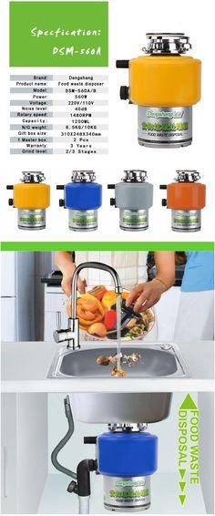 Details about DSW560 kitchen food waste disposer  http://www.sinkgarbagedisposal.com/details-dsw560-kitchen-food-waste-disposer.html