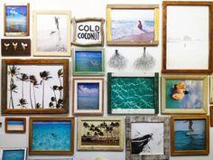 Gallery Wall inspiration - ladyslider.com