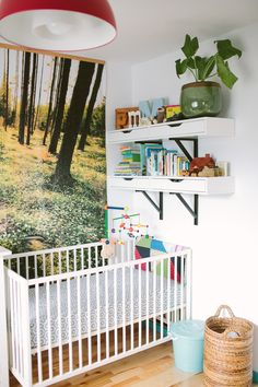Bright and Colorful Nursery