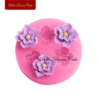 Mini 3 Roses Flower Silicone Baking Forms Fondant Cake Chocolate Sugar Craft Mold Silicone Tools DIY Soap Candle Molds for Cakes Fondant, Baking Accessories, Kitchen Accessories, Sunshine Birthday, Afternoon Tea Parties, Candle Molds, Dream Cake, Cake Decorating Tools, Sugar Craft