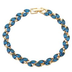 Find More Charm Bracelets Information about Fashion bracelets for women Deep Blue CZ stones Cluster 18K Gold plated Bracelets & bangles fashion jewelry B195,High Quality jewelry standards,China bracelet slap Suppliers, Cheap jewelry d from Dana Jewelry Co., Ltd. on Aliexpress.com