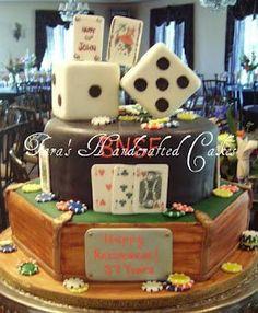 casino cake Cake by Taras Handcrafted Cakes Vegas Party, Casino Party, Casino Night, Beautiful Cakes, Amazing Cakes, Cupcake Cakes, Party Cupcakes, Cupcake Art, Casino Cakes