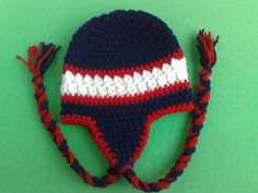 Houston Texans Hat Crochet Hat Football Team by RevelynsHandcrafts, $14.00