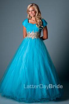 Bridesmaid & Prom, Katerina | LatterDayBride & Prom -Modest Mormon LDS Prom Dress