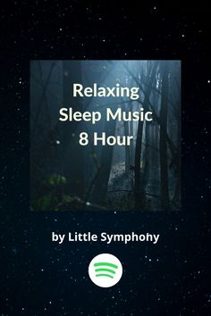 Relaxing Sleep Music 8 Hour, a playlist by peter. Calming Sounds, Nature Sounds, Calming Music, Relaxing Music, Yoga Music, Meditation Music, Permanent Vacation, Nature Music, Song Playlist