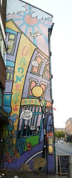 Pierre Bonnard, Art Installations, Installation Art, Crouch End, Oeuvre D'art, Les Oeuvres, Banners, Artwork, Graffiti