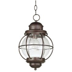 Hatteras Outdoor Hanging Pendant - mudroom