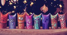 Juneberry Lane: Tutorial Tuesday: Paper Roll Owls