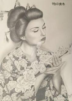 DaisyPearl7's DeviantArt Gallery #pencildrawing #realisticdraw #woman #blackandwhite #girl #drawing #portrait #portraitdrawing #female #hair #hiper #hiperrealistic #retrato #desenhocarvão #desenho #hiperrealismo #desenhorealista #mulher #cabelo #pretoebranco #dama #beleza #lady #prettywoman #beauty #sensual #amor #love #sedução #flowers #flores #japonesa #oriental #asiática #asian #mystic